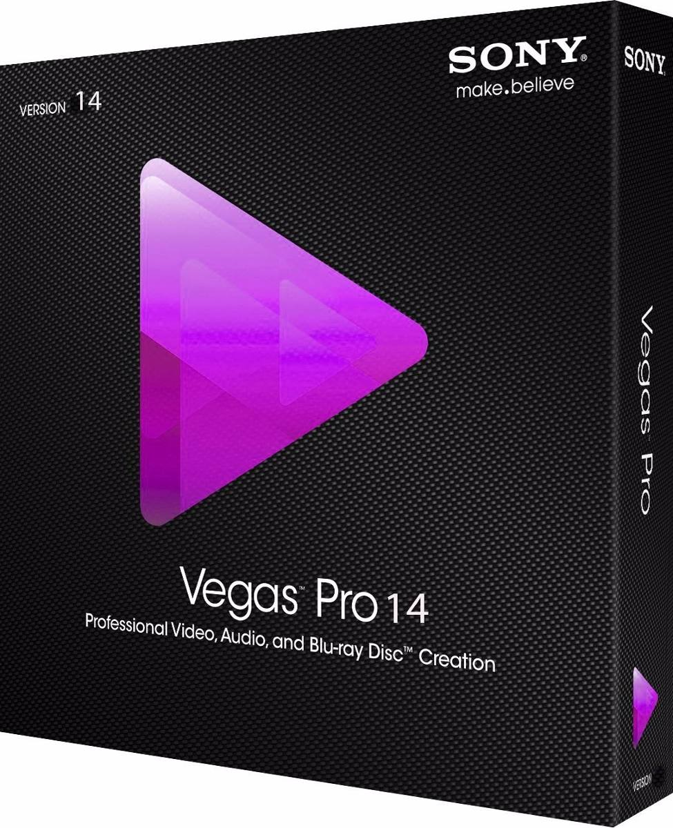 Vegas Pro 14 + Crack e Serial - Completo