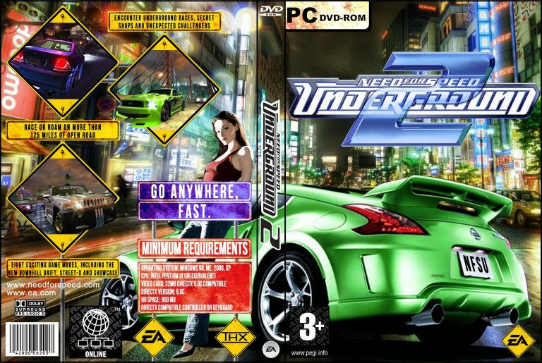 Download Need For Speed Underground 1 torrent + crack + Tradução