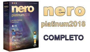 Nero 2018 Platinum + Crack e Serial em Português-BR - Completo