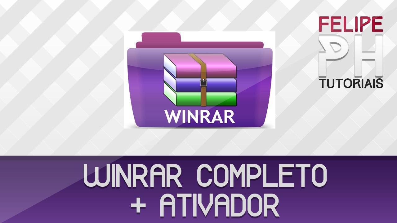 WinRAR 5.60 PRO + Serial Key - PT BR 32 E 64 BITS ATIVADO