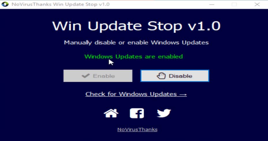 Desative o Windows Update Com Apenas Um Clique