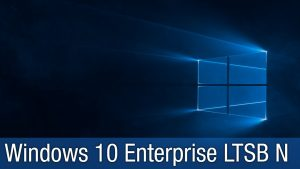 Windows 10 Enterprise LTSB 32/64 Bits – Português-BR ISO