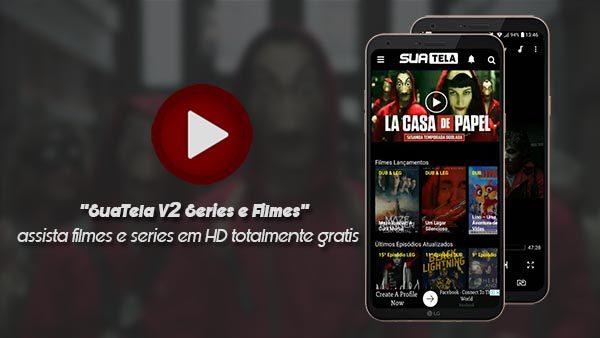 SuaTela V2 - Aplicativos de Series e Filmes