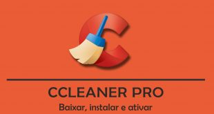 CCleaner Pro 5.48.001 - Serial Key + Crack Ativador