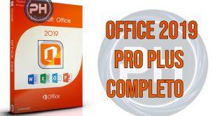 Office 2019 Professional Plus - Completo em Português-BR 32/64 Bits
